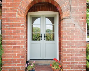 entrance-with-french-doors